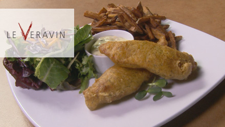 Le fish and chips du Veravin